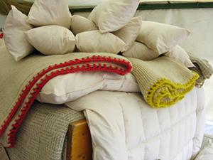 Volnena posteljina Soven